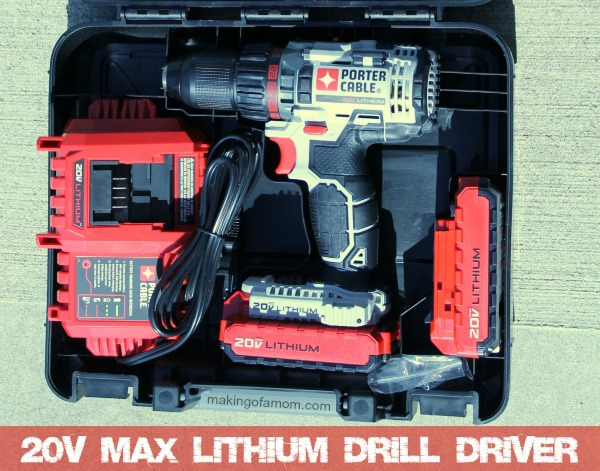Porter Cable 20V Max Lithium Drill Driver