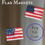 Popsicle Stick Flag Magnets – Easy Kids Craft
