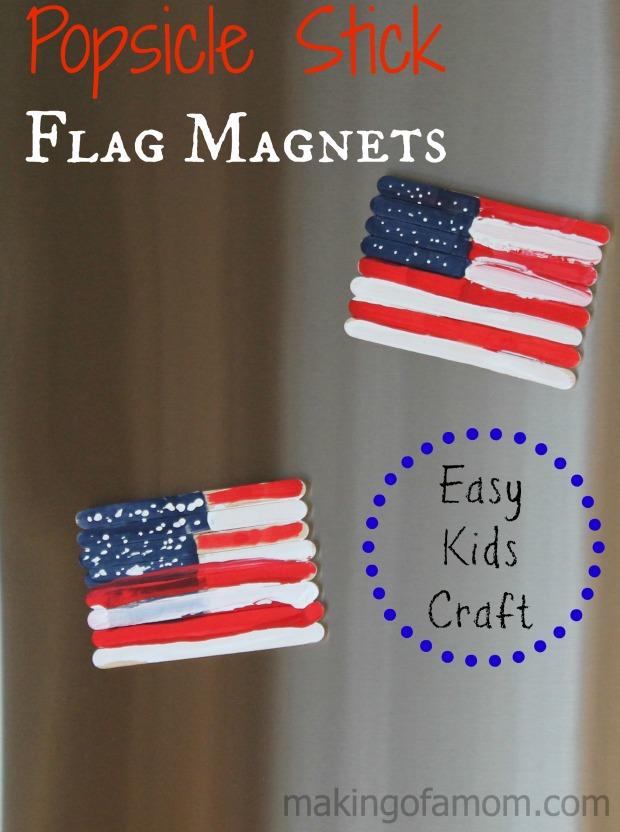 Popsicle-Sticks-Flag-Magnets-Kids-Craft