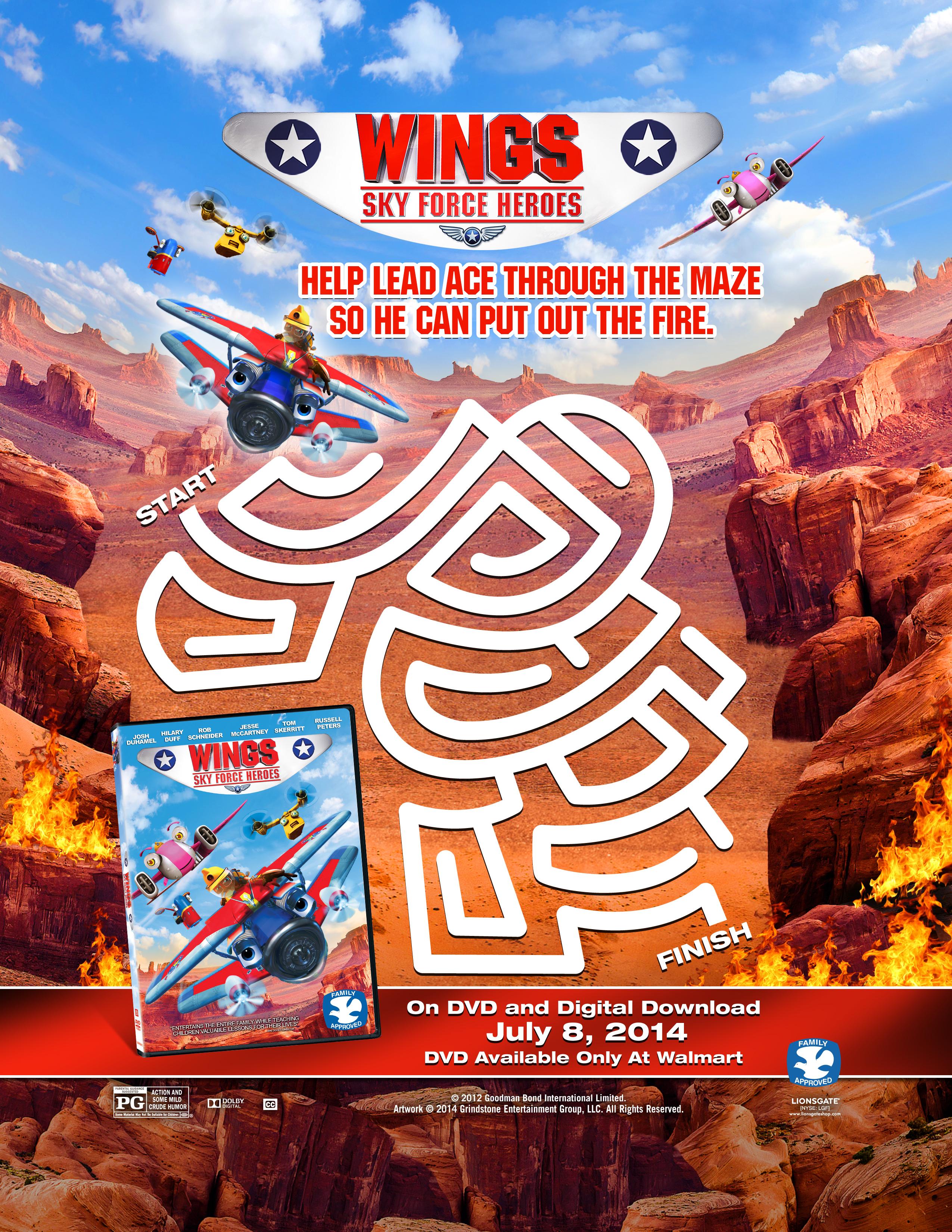 Wings Sky Force Heroes Now at Walmart