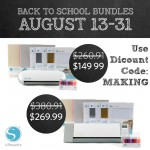 Back to School with Silhouette – August Sale