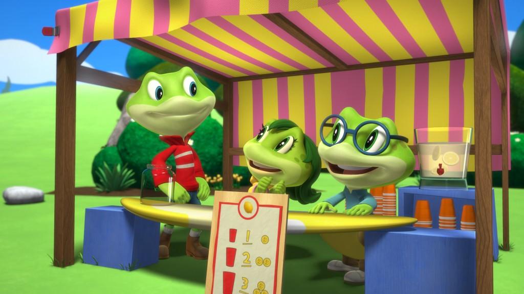 Leapfrog DVD scene