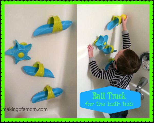 BATHTUB-BALL-TRACK