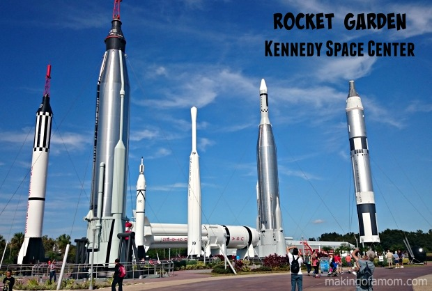 rocket garden kennedy space center - photo #34