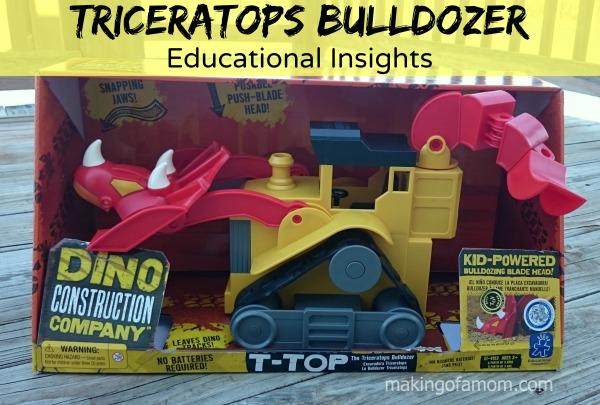 Triceratops-Bulldozer