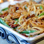 Green Bean Casserole w/Bacon