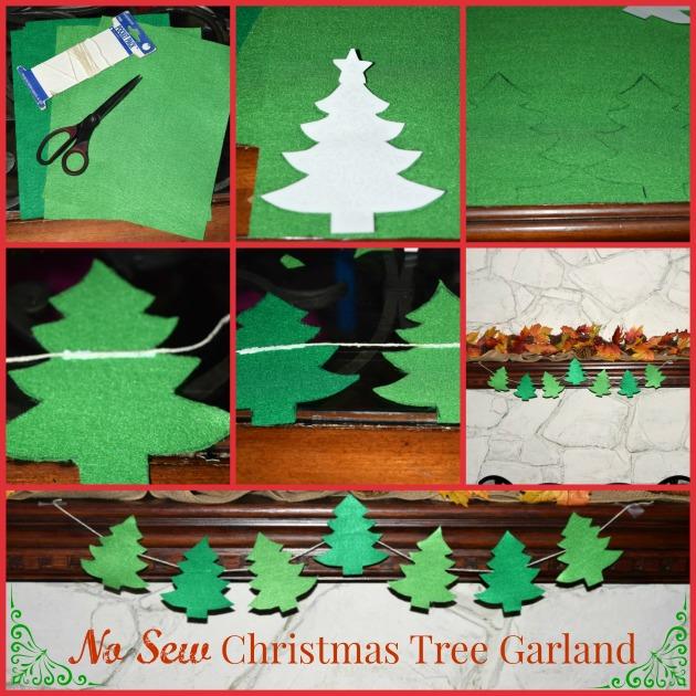 No-Sew-Christmas-Tree-Garland-Process
