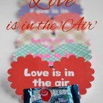 Love is in the 'Air' Valentine Card