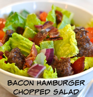 Bacon-Hamburger-Chopped-Salad
