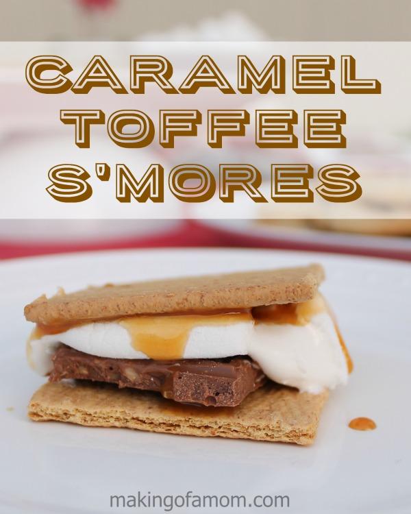 Caramel-Toffee-Smores
