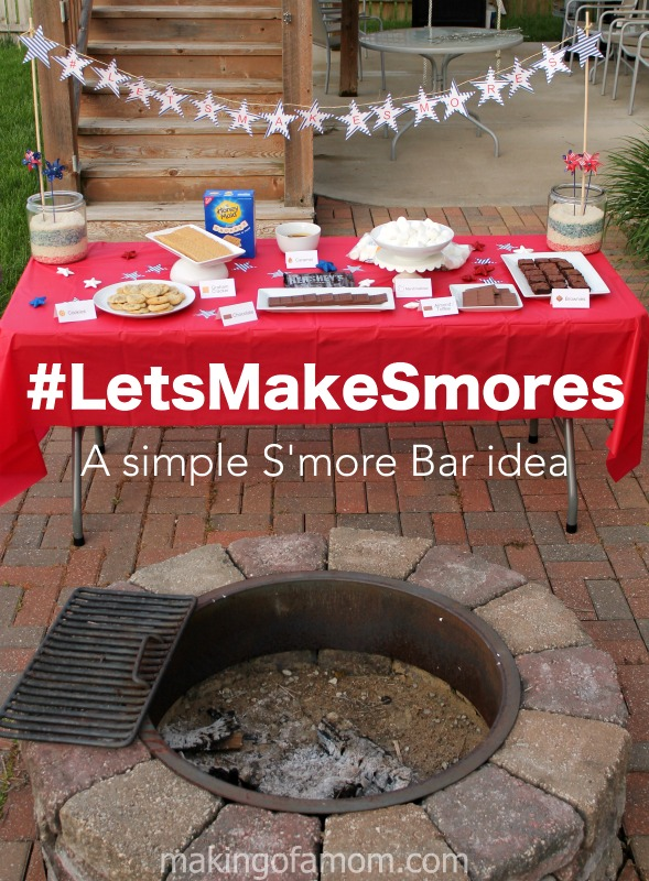 #LetsMakeSmores-Bar