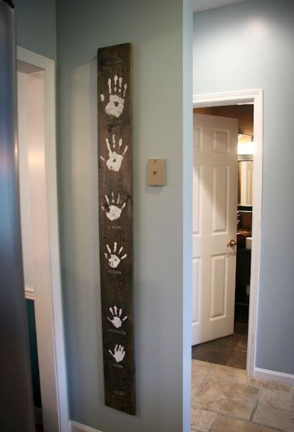 Fun Diy Growth Chart Ideas