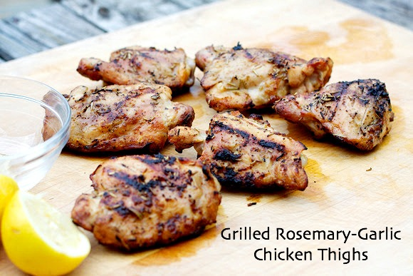 Grilled-Rosemary-Garlic-Chicken-Thighs