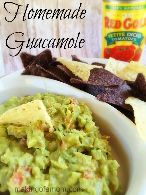Homemade-Guacamole