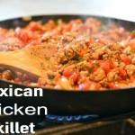 Paleo Mexican Chicken Skillet