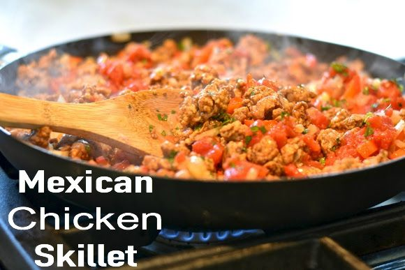 Mexican-Chicken-Skillet
