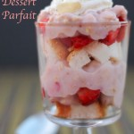 Strawberry Granola Dessert Parfait