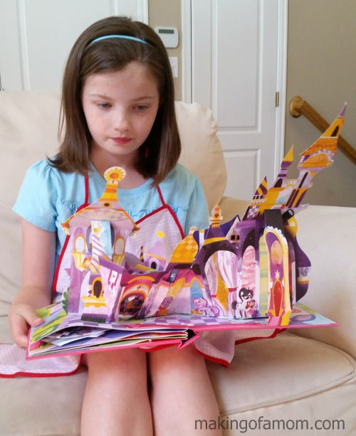 My Little Pony: Castles of Equestria Pop-Up Book