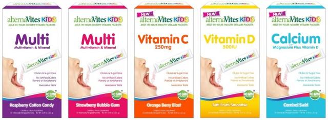 alternaVites Kids family