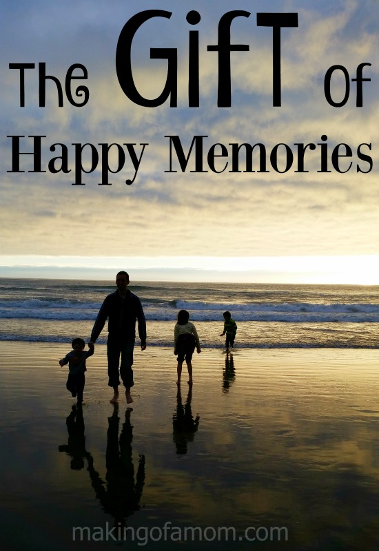 "This holiday season, consider giving the gift of happy memories instead of ""stuff""."