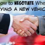 How to Negotiate When Buying a New Vehicle