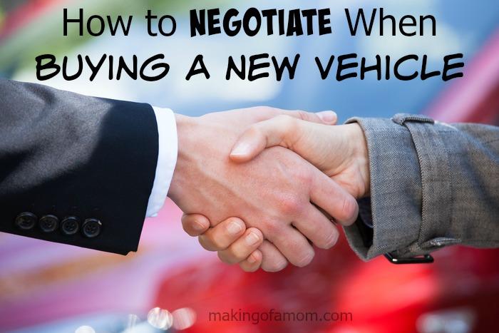 Negotiate-New-Vehicle