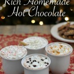 Rich Homemade Hot Chocolate