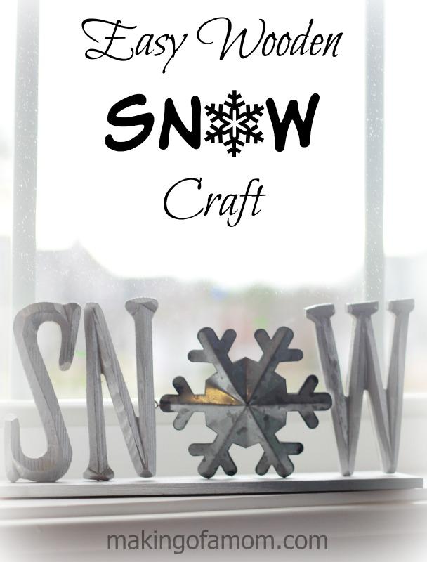 Easy-Wooden-Snow-Craft