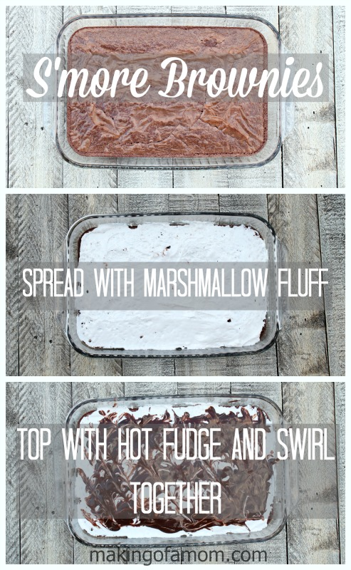 Smore-Brownie-Process
