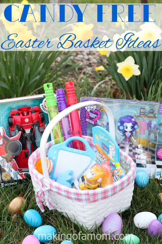 Candy free easter basket ideas making of a mom candy free easter basket negle Gallery