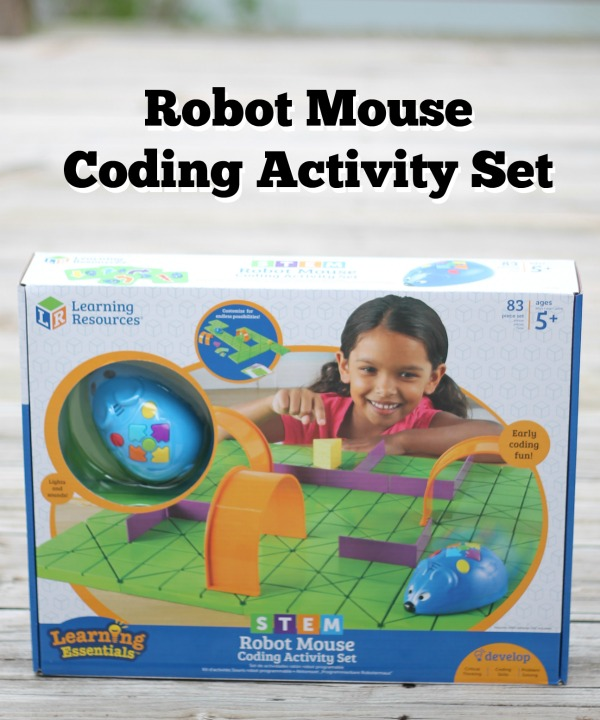STEM Robot Mouse Coding Activity Set