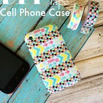 DIY Washi Tape Cell Phone Case