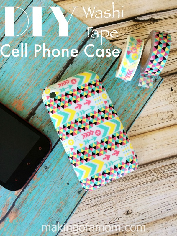 DIY-Washi-Tape-Cell-Phone-Case
