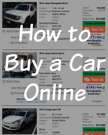 Can You Buy A Car Online In Missouri
