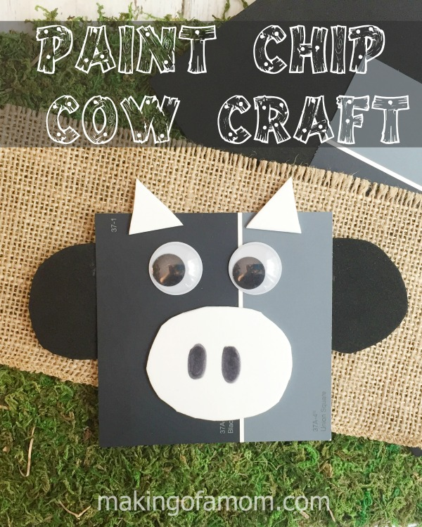 Paint-Chip-Cow-Craft