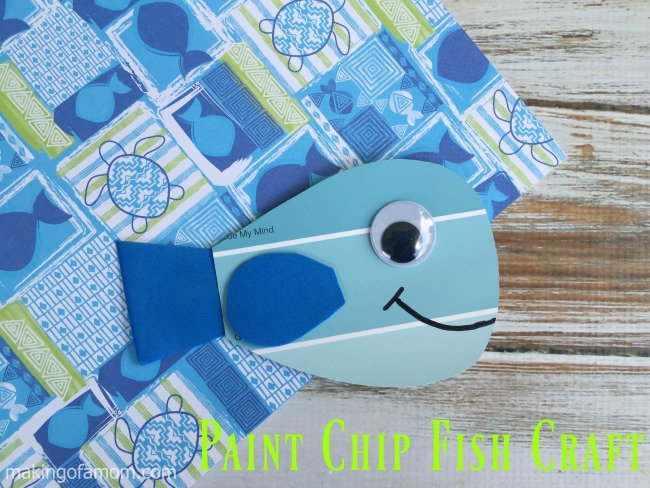 Paint-Chip Fish-Craft-Horizontal