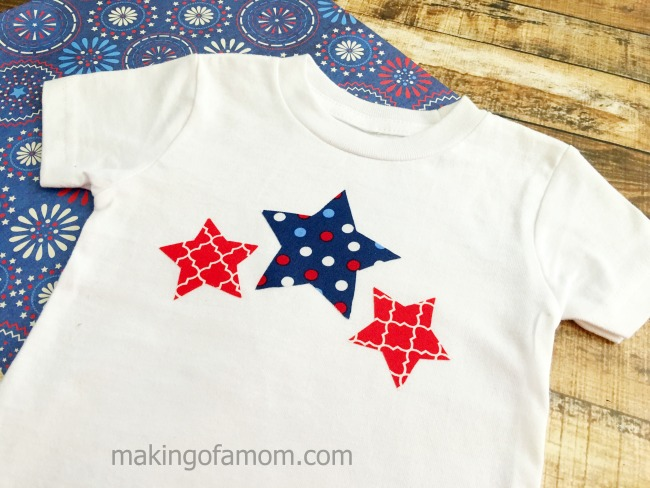 Patriotic Star Shirt Making Of A Mom