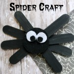 Craft Stick Spider Craft