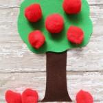 Easy Felt Apple Tree Craft
