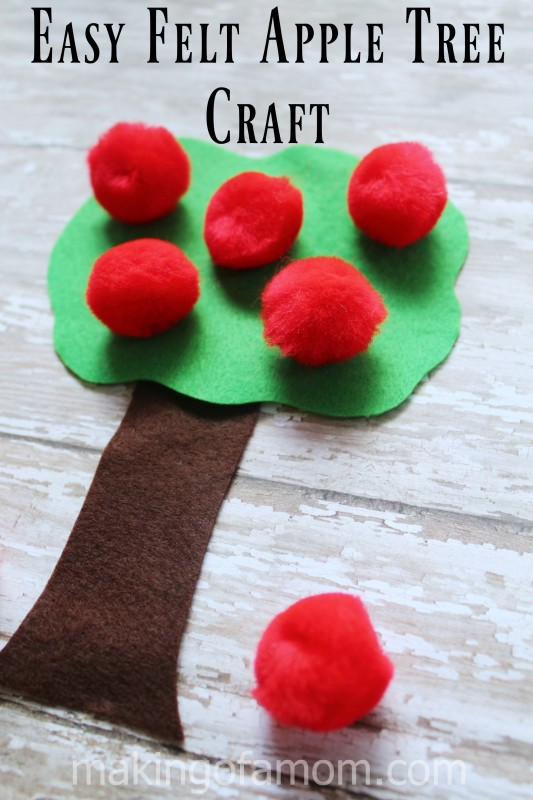 Felt-Apple-Tree-Craft