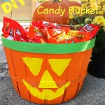 DIY Jack-O-Lantern Candy Bucket