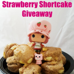 Apple Cider Scones + Strawberry Shortcake Giveaway