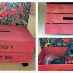 Large Personalized Kids Toy/Dressup Crate
