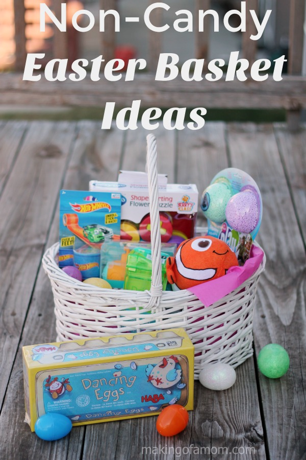 NonCandy Easter Basket Ideas
