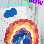 Rainbow Paint Chip Craft