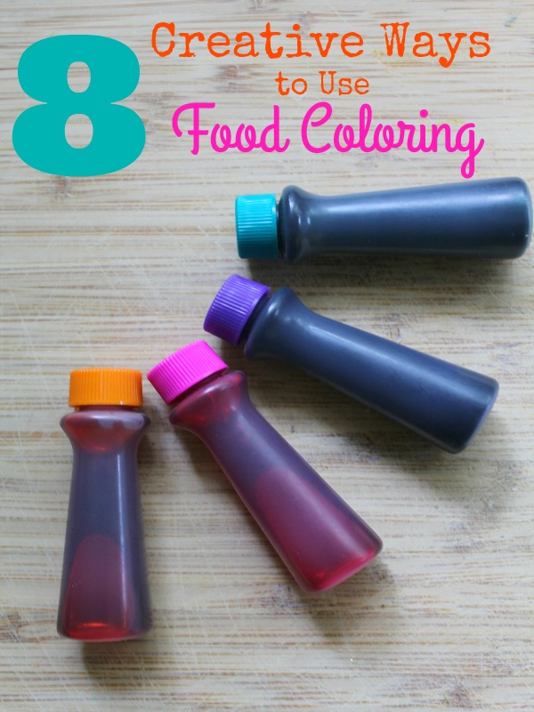 Ways to use Food Coloring