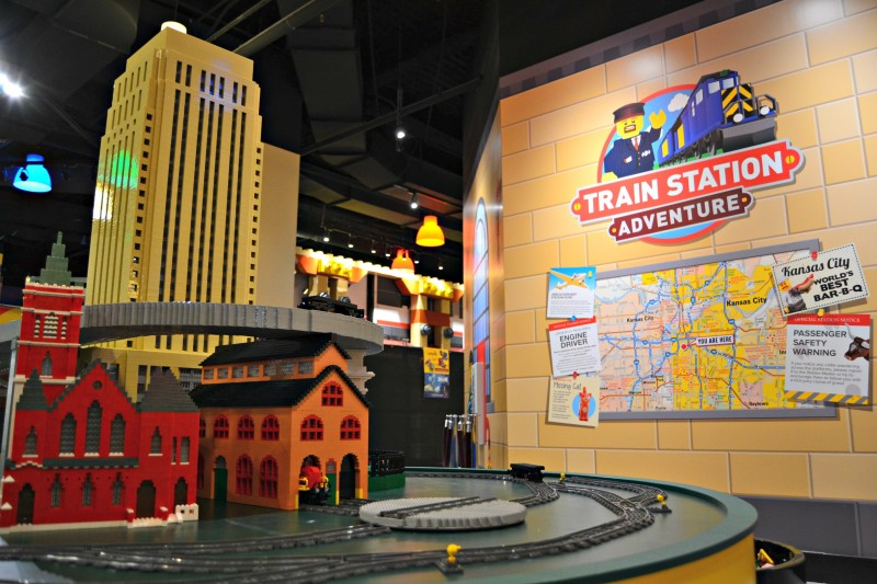 New Train Station Adventure at LDC Kansas City - Making of a Mom