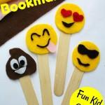 Emoji Bookmarks Craft