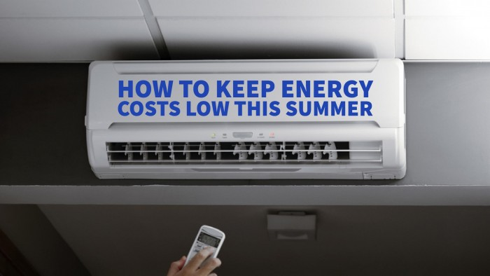 How to Keep Energy Costs Low This Summer - Blog