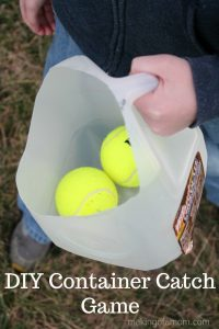 DIY Container Catch Game